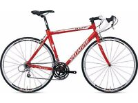 Specialised E5 max SL x aluminium allez in red and white, bought as new.