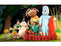 In the night garden live 26th June 3 x tickets