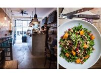 Waiting staff/supervisors required for a buzzing cafe in Chelsea