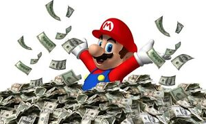 CASH ON THE SPOT WITH PICK UP FOR ALL NINTENDO STUFF