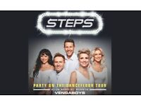 STEPS FRONT ROW CARDIFF STEPTACULAR TICKET SEATED DECEMBER 10th