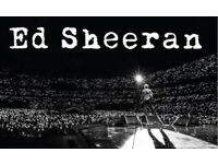 4 Ed sheeran tickets ethihad standing