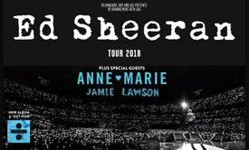 *** Sold *** 4x Seated Ed Sheeran Tickets - Cardiff