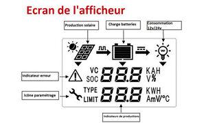 Nouveau contrôleur régulateur solaire MPPT Tracker 20/40 Panneau Québec City Québec image 3