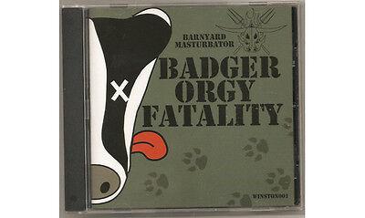 BARNYARD MASTURBATOR BADGER ORGY FATALITY CD FEMALE FRONTED PUNK ENGLISH DOGS