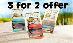 Yankee-Candle-3-for-2-Bonus-Car-Jars-Air-Fresheners-With-FREE-Delivery