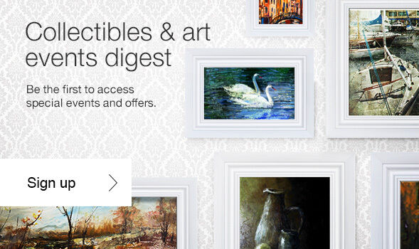 Sign up for eBay's collectibles & art events digest