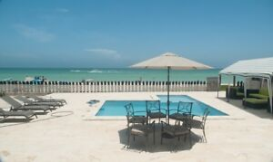 Beachfront House in Relaxing Chicxulub, Yucatan, Mexico