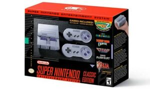 2 Brand new SNES classic with receipt for Nintendo switch