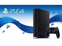 PlayStation 4 slimline boxed!