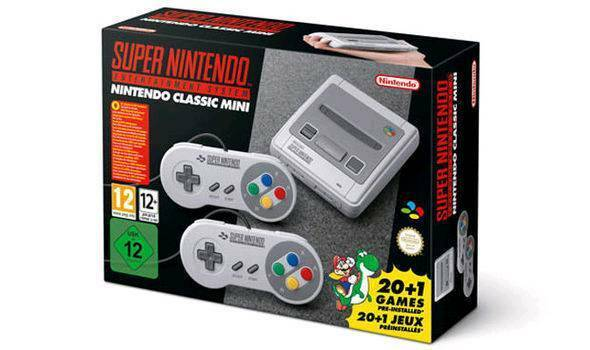 Nintendo Classic Mini: Super Nintendo Entertainment System (SNES) - £130