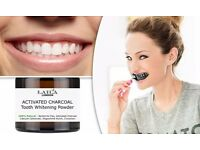 Laila London Activated Charcoal Teeth Whitening Powder £10.00 per tub