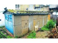 Garages wanted Cash paid lockup