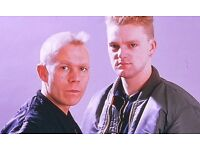 3x General Admission To See Erasure 28/5/27