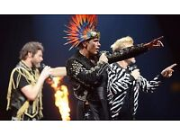 X2 Take That Standing Tickets Norwich. Face Value!