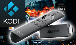 Amazon Fire TV Stick 4K With Alexa Voice Remote+Kodi+Other Apps