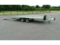 Bateson 3500kg Transporter Beaver Tail Trailer 354B Car Van Plant Barely used