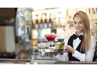 Part time Summer work (Waiters/Bartenders needed) £8.50/hr