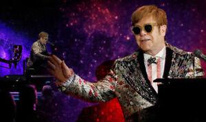 Elton John Floor seats