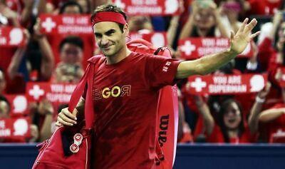 RARE NEW XXL Roger Federer Shanghai 2019 Uniqlo GOROGER Tennis Fan T-Shirt Tee!