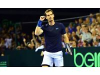 Davis Cup Glasgow - 1x Ticket for Sunday 18th September