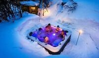 $500 OFF ALL HOT TUBS, GET INTO HOT WATER!!