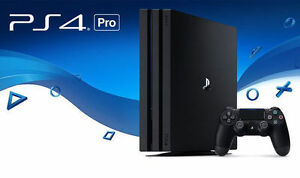 Playstation 4 Pro NEUF/NEW PS4 Pro