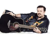 1 ticket for David Brent and foregone conclusion