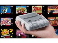 Nintendo Classic Mini (SNES) System Read , 200+ games ! brand new ! proof of purchase ! PRICE STANDS