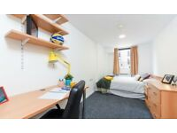 STUDENT ROOM TO RENT IN SHEFFIELD- EN-SUITE WITH COMMUNAL KITCHEN AND SINGLE OR SMALL DOUBLE BED