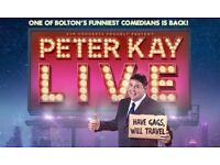 Peter Kay x2 Tickets - Sheffield - 13th March 2019