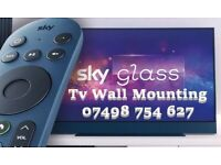 SKY GLASS TV WALL MOUNTING SERVICE