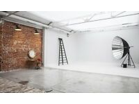 Brand New Photography Studio to Rent in East London with all bills included.