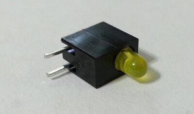 50pcs Led Yellow 3mm 588nm Circuit Board Beacon Indicators Assy Mentor E.3106y