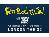 3 x Standing Fatboy Slim Tickets at O2!