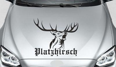 Autoaufkleber Aufkleber AUTO OFFROAD 4x4 Platzhirsch Geweih Hirsch Jäger  144 (Auto Hirsch Geweih)