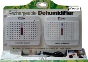 2-x-Car-Home-Caravan-Rechargeable-Damp-Condensation-Mini-Dehumidifier-NEW