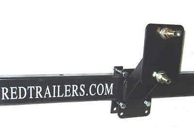 Fulton Heavy Duty Trailer Spare Tire Carrier/Holder STC1000301