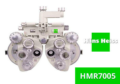 MANUAL REFRACTOR HANS HEISS HMR7005 WHITE MINUS CYL NEW