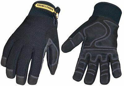 Youngstown Glove03-3450-80-mwaterproofwinterplus Performance Glove Medium Black