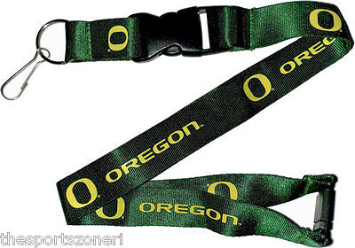 Oregon Ducks Break Away Lanyard with Double Sided Logo/Graphics (Oregon Ducks Lanyard)