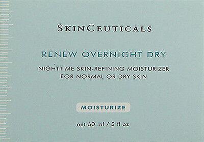 Skinceuticals Renew Overnight Dry 60ml(2oz) Normal/Dry Skin Brand New