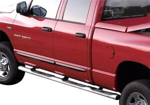New Mopar quad cab chrome running boards