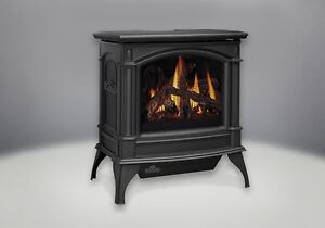 NAPOLEON 'KNIGHTSBRIDGE' GAS FIREPLACE STOVE - DIRECT VENT