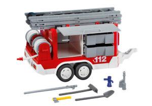 POMPIERS PLAYMOBIL Enjoliveur pour Camion 3182 3879 Semi Remorque 3935 G3210