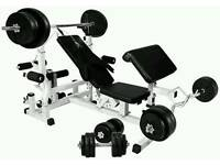 Bench Press (no weights)