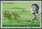 Fishing Solomon Islander Stamps