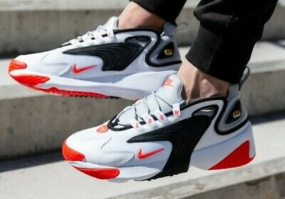 New NIKE Zoom 2K Mens Casual Athletic shoes gray white red all sizes