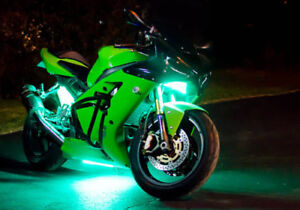 Motorcycle Bike UNDERGLOW Kit Multi Color and Multi Effect