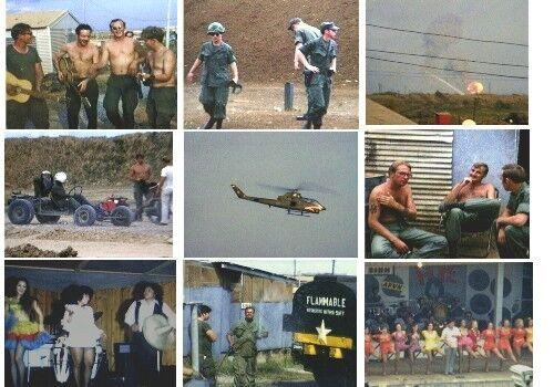 1971 Long Binh Vietnam War home movies DVD ammo dump explosion Go-Karts Bob Hope